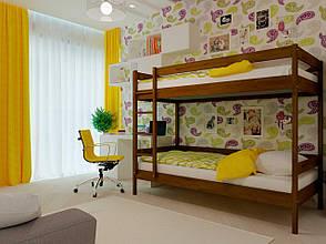 Двоярусне ліжко НеоМеблі Твікс 90х190 (NM34), фото 2