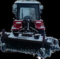 Щетка с бункером для мини тракторов