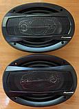 Колонки Pioneer 600W 16'' акустика в авто, автоакустика, 5 полос,6'x9' / 16x24см, фото 7