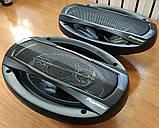 Колонки Pioneer 600W 16'' акустика в авто, автоакустика, 5 полос,6'x9' / 16x24см, фото 9