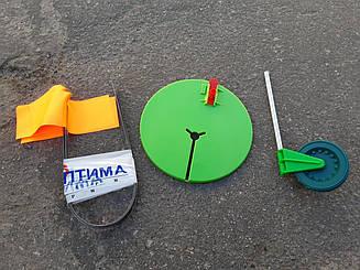 Набор сумских жерлиц на пластиковой ножке 10 шт. оснащенные с сумкой c