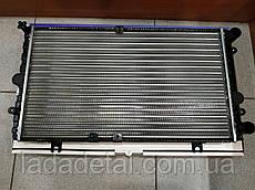 Радиатор Калина 1117,1118, 1119 без кондиционера, алюминий Лузар LRc 0118