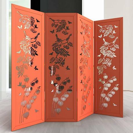 Ширма ДекоДім Лілія на 6 секцій 300х170 см (DK35-8), фото 2