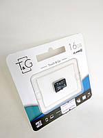 Карта памяти Micro SD 16Gb T&G Class10 без ад. (UHS-1)