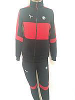 Мужской теплый спортивный костюм Puma / трикотажный / флис, фото 1