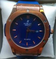 Женские часы hublot синие,(реплика)