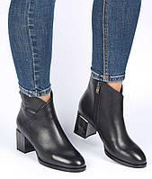 Женские ботинки на каблуке Geronea 195350, Размер 40