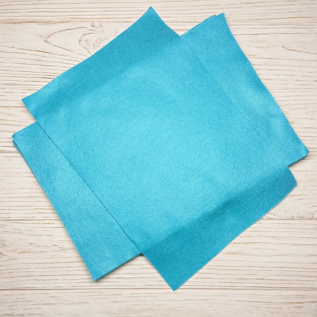 Фетр мягкий 1.3 мм, Royal Тайвань темно-голубой 20*30 см