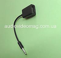 Переходник гнездо USB A  на штекер 3.5 (4 pin)
