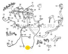 Разьем 3-х контактный датчика температуры,детонации,давления кондиционера WAG на Audi,Seat,Skoda,VW, фото 3