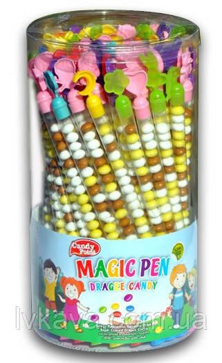 Шоколадое драже Magic Pen Candy Point  , 75 шт х 8  гр