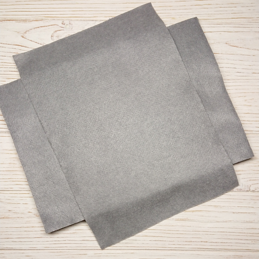 М'який Фетр 1.3 мм, Royal Тайвань сірий холодний 20*30 см