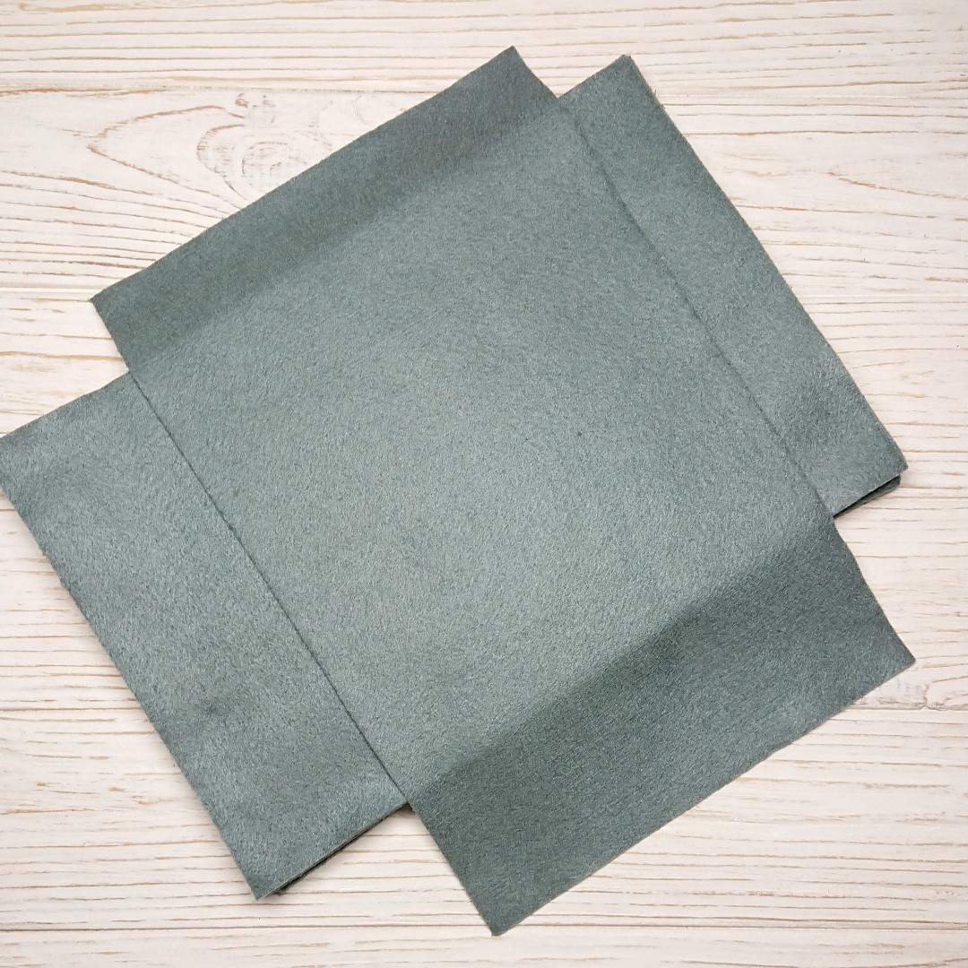 Фетр мягкий 1.3 мм, Royal Тайвань антрацитовый 20*30 см