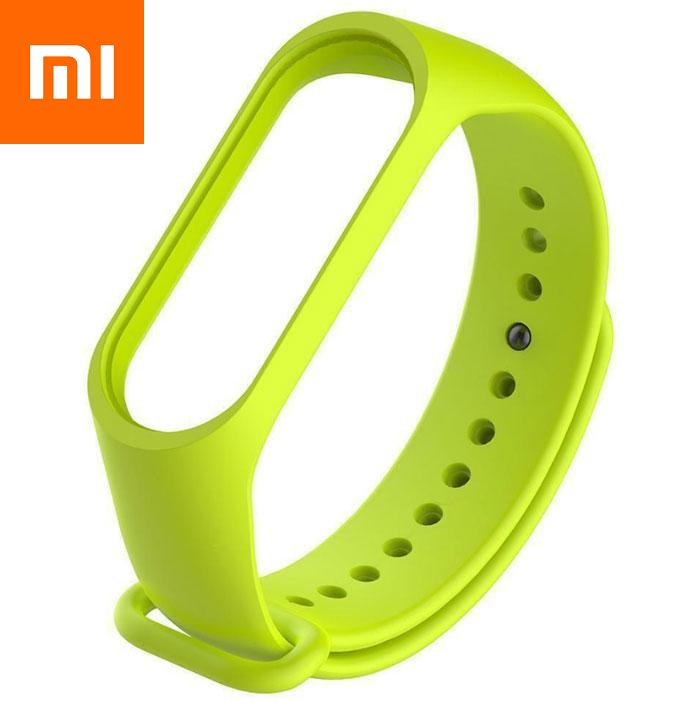 Ремешок для Xiaomi Mi Band 4 Зеленый Оригинальное Качество