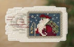 Набор для вышивки Mill Hill Holiday Stamp/Праздничная марка