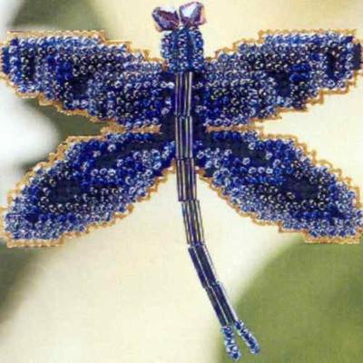 Набор для вышивки Rainbow Dragonfly