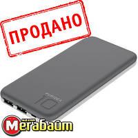 PowerBank Puridea S2S 10000mAh Li-Pol Rubber Grey & White, фото 1