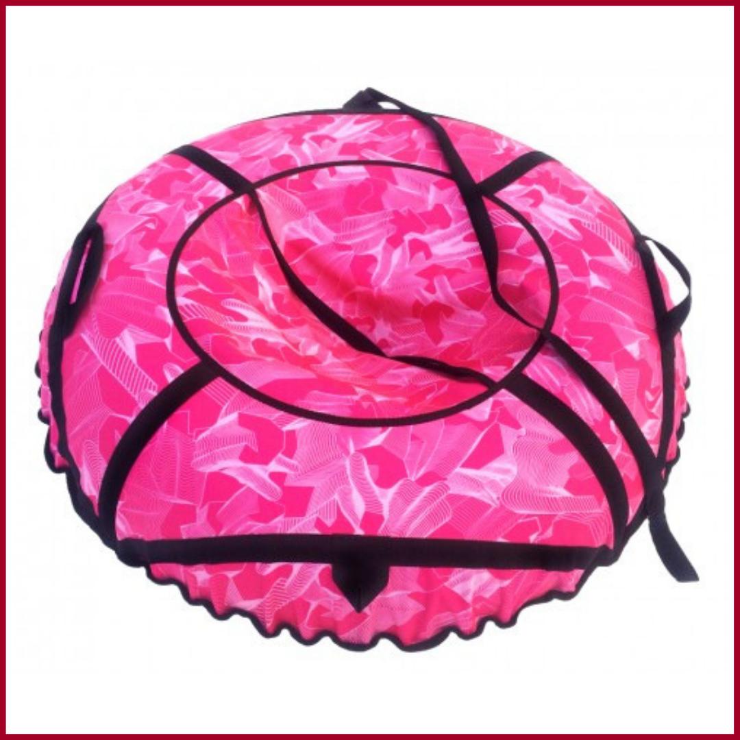 Санки надувные тюбинг диаграмма розовая
