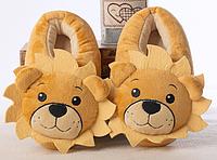 Тапочки Лев, размер универсальный 32-34,