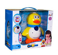 Интерактивно-обучающая игрушка Toysi Пингвиненок Вилли Желтый (TOY-14035)