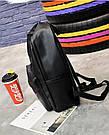 Рюкзак Pink чёрный женский Strength knight (AV216), фото 3