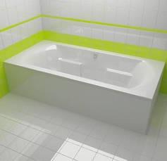 Ванна Riho Livorno пряма 170*80 см + ніжки (ВВ71), фото 2