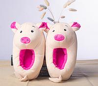 Тапочки Свинки, размер универсальный 32-34, фото 1