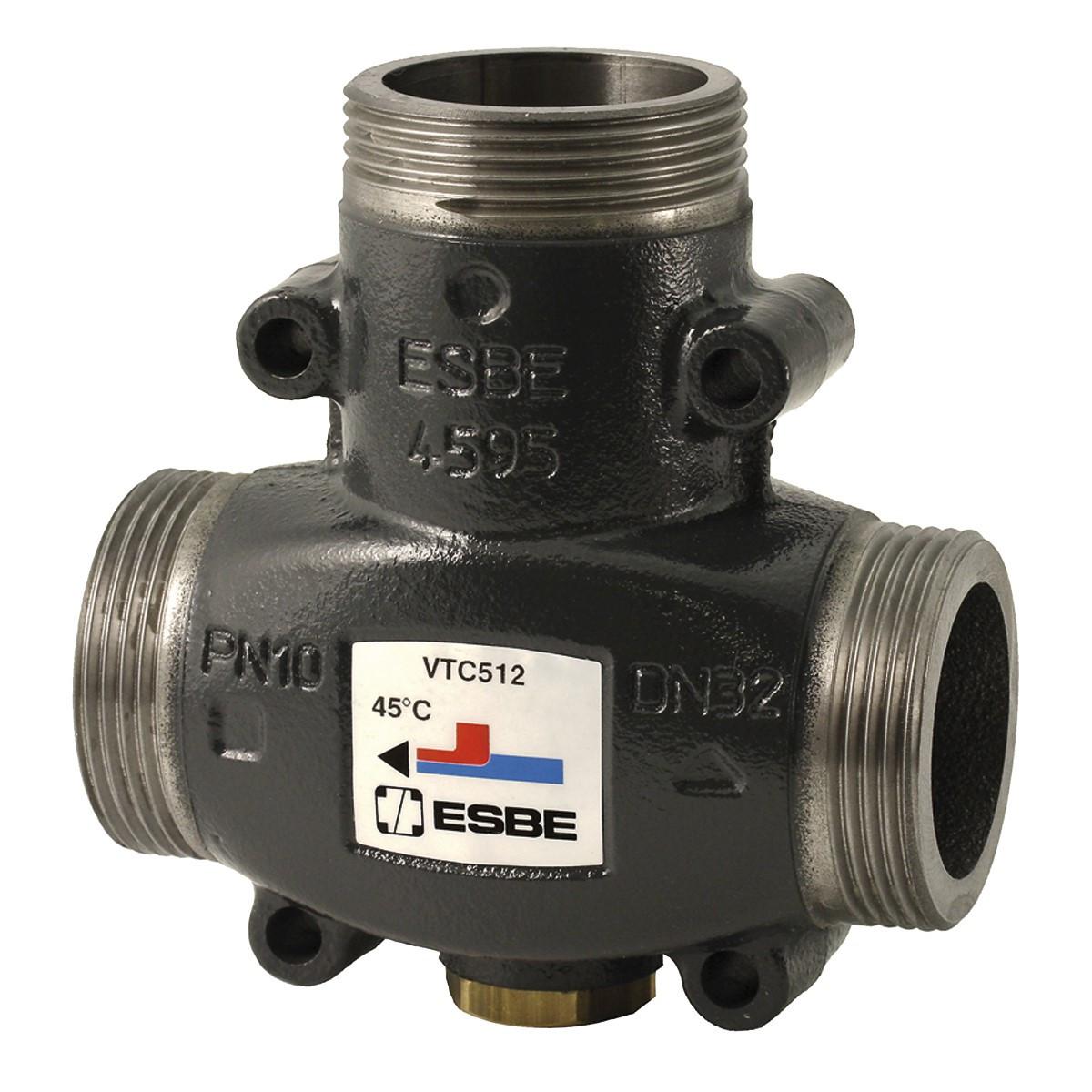 Термостатический смесительный клапан ESBE VTC512 DN25 1 1/4″ 55°С (наруж.)