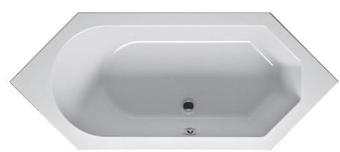 Ванна Riho Alberta шестигранна 190x80 см + ніжки (BA31)