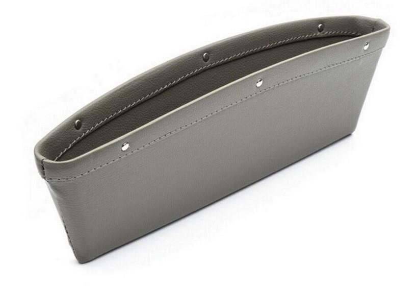 Органайзер для передніх крісел автомобіля ZIRY 300х95mm штучна шкіра, сірий
