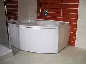 Ванна Riho Nora асиметрична 160x100 см, R + ніжки (BA74), фото 2