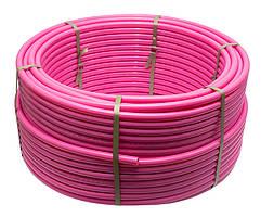 Труба теплый пол RSk ТITAN PINK EVOH/PE-RT D16x2,0mm кислородный барьер 100м