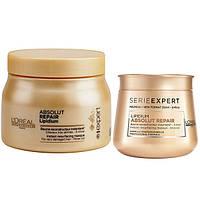 Маска для ломких волос L'OREAL PROFESSIONNEL  Absolut Repair GOLD, фото 1