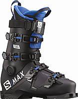 Горнолыжные ботинки Salomon S/Max 130 BlackRaceblue
