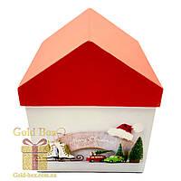 Новогодние коробочки «Домик» 4 в 1