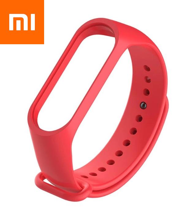 Ремешок для Xiaomi Mi Band 4 Красный Оригинальное Качество