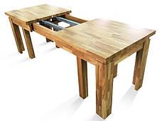 Стіл розкладний Грамма Ельбрідж 90х160+360 дуб (ED160), фото 2