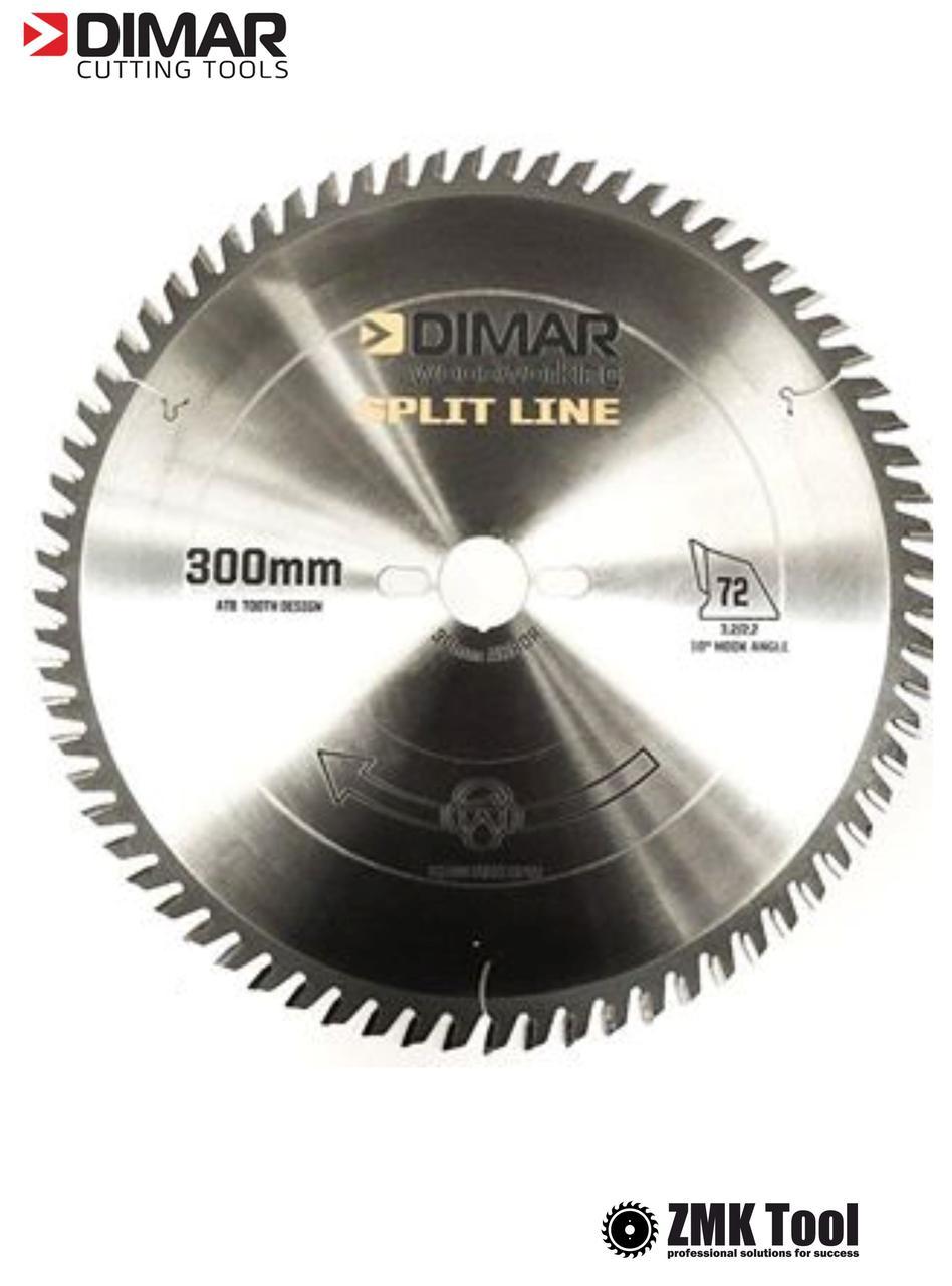 Пила DIMAR MEW SPLIT D300 Z72 B3.2 d30