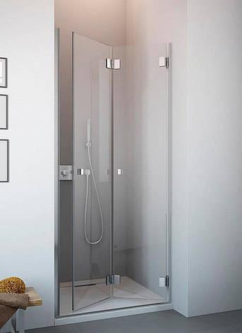 Душові двері в нішу Radaway Сarena DWB 80 праві, коричневе (34512-01-08NR), фото 2