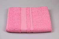 Махровая простынь Розовая, размер 150/200 см Узбекистан