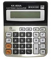 Калькулятор бухгалтерский KK-800A, 14х11см 8разрядный