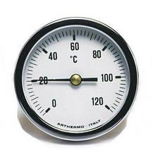 Термометр Arthermo AR-T/B 100 (Ø100 мм, гильза 100 мм, 0-120°С)
