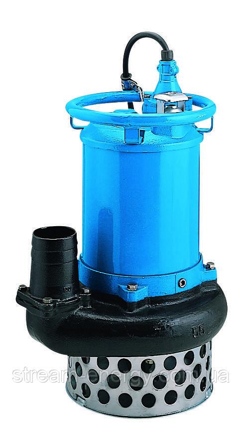 Шламовый насос Tsurumi Pump NKZ3-100H (до 146м3/час, частицы до 30мм с агитатором)