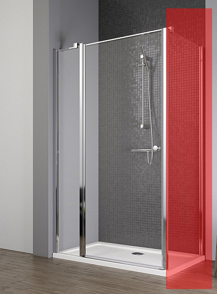 Двері для душової кабіни Radaway Eos II KDJ 90 ліві, прозоре (3799421-01L)