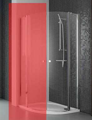 Права частина душової кабіни Radaway Eos II PDD 90, прозоре (3799471-01R), фото 2