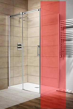 Двері для душової кабіни Radaway Espera KDJ 140 ліві, прозоре (380134-01L), фото 2