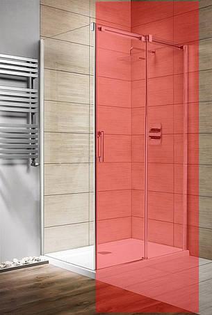 Стінка для душової кабіни Radaway Espera KDJ S 800 ліва, прозоре (380148-01L), фото 2