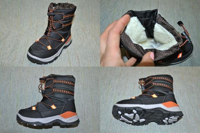 Термо ботинки для мальчиков Tom.m фото