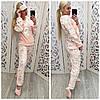 Женская теплая плюшевая пижама Турция