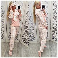 Женская теплая плюшевая пижама Турция, фото 1